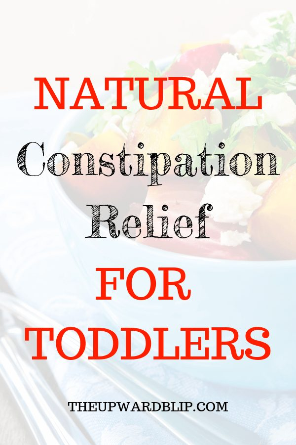 Remedies you can do at home to relieve toddler constipation