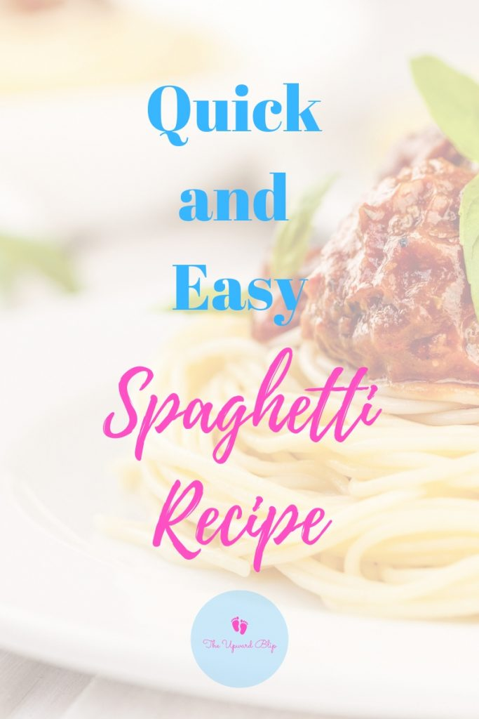 Quick and Easy Spaghetti Recipe