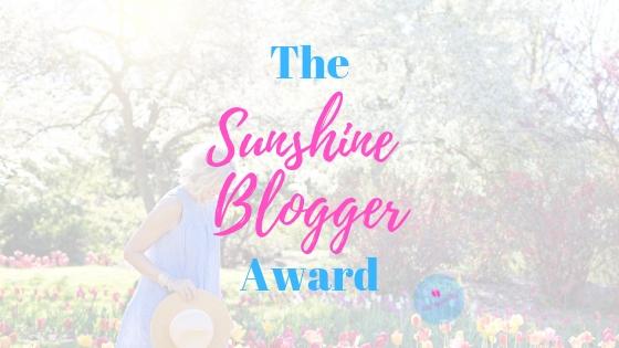 Sunshine Blogger Award | The Upward Blip