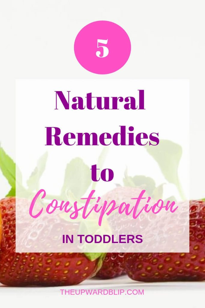 Learn Natural Remedies to Constipation in Toddlers