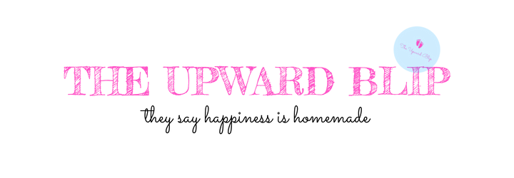 the upward blip