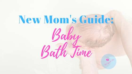 new mom's guide to baby bath time featured image