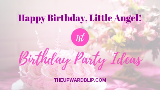ideas for your baby girl's first birthday party blog banner