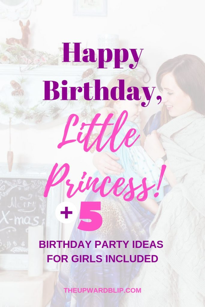 first birthday party ideas blog graphic