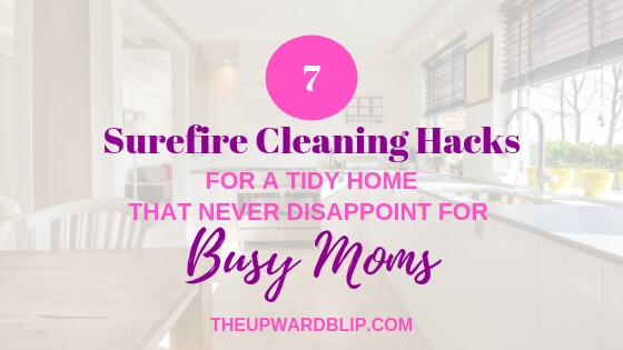 Cleaning Tips for a Tidy Home