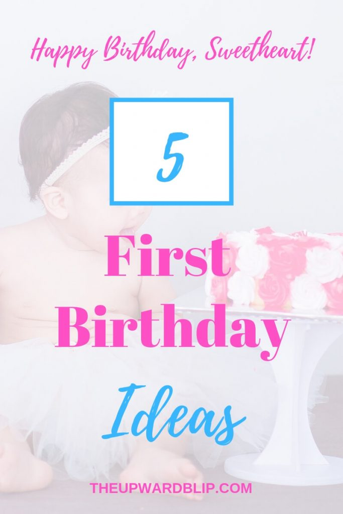 first birthday party ideas pin