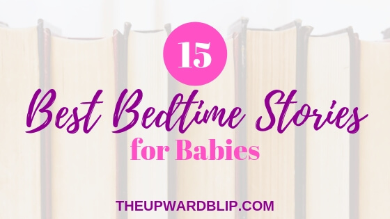 best bedtime stories blog banner | The Upward Blip