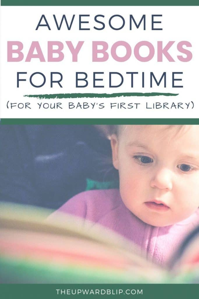 awesome baby books for bedtime pin image