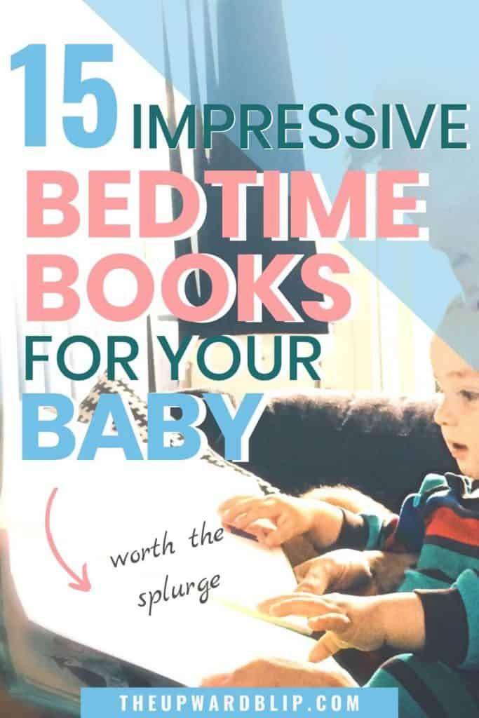 bedtime books for baby pin image
