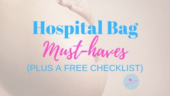hospital bag must-haves blog banner
