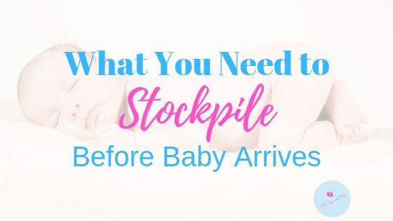 stockpiling for baby blog banner