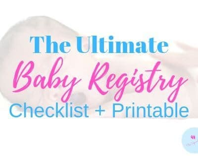 Your Practical Baby Registry [Printable Checklist]