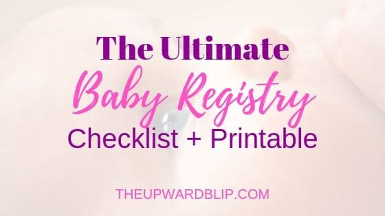 image regarding Baby Registry Checklist Printable known as Your Best Kid Registry [Printable Listing] The