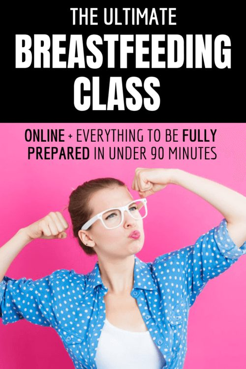 The Ultimate Breastfeeding Class Banner