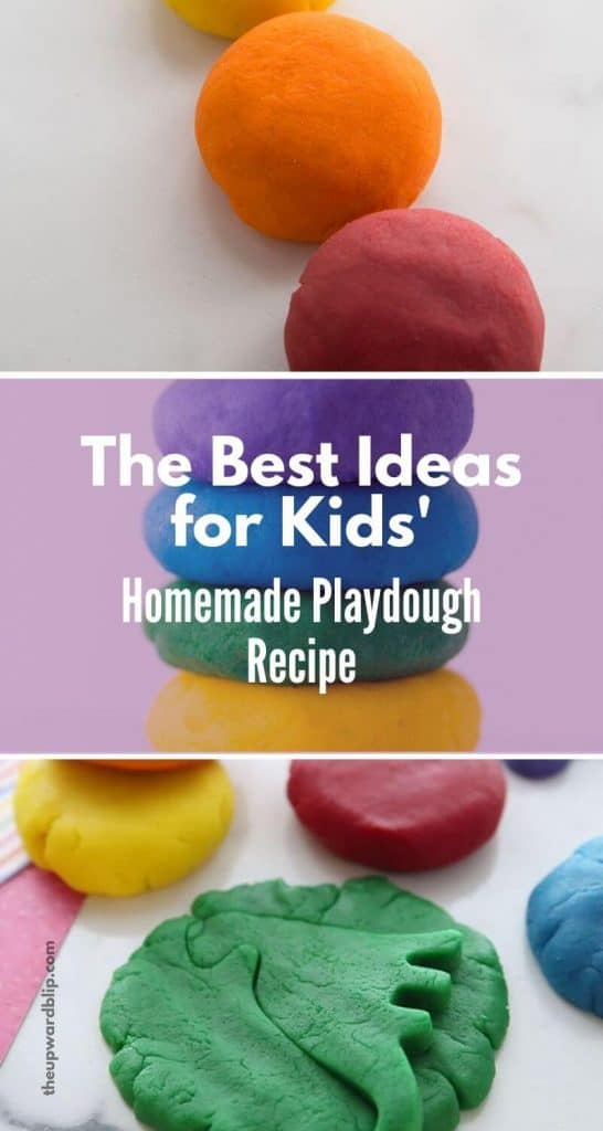 indoor activities for toddlers - homemade play dough recipe from Kimberly of The Best Ideas for Kids
