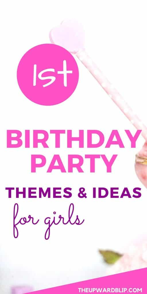 1st birthday party themes and ideas pin