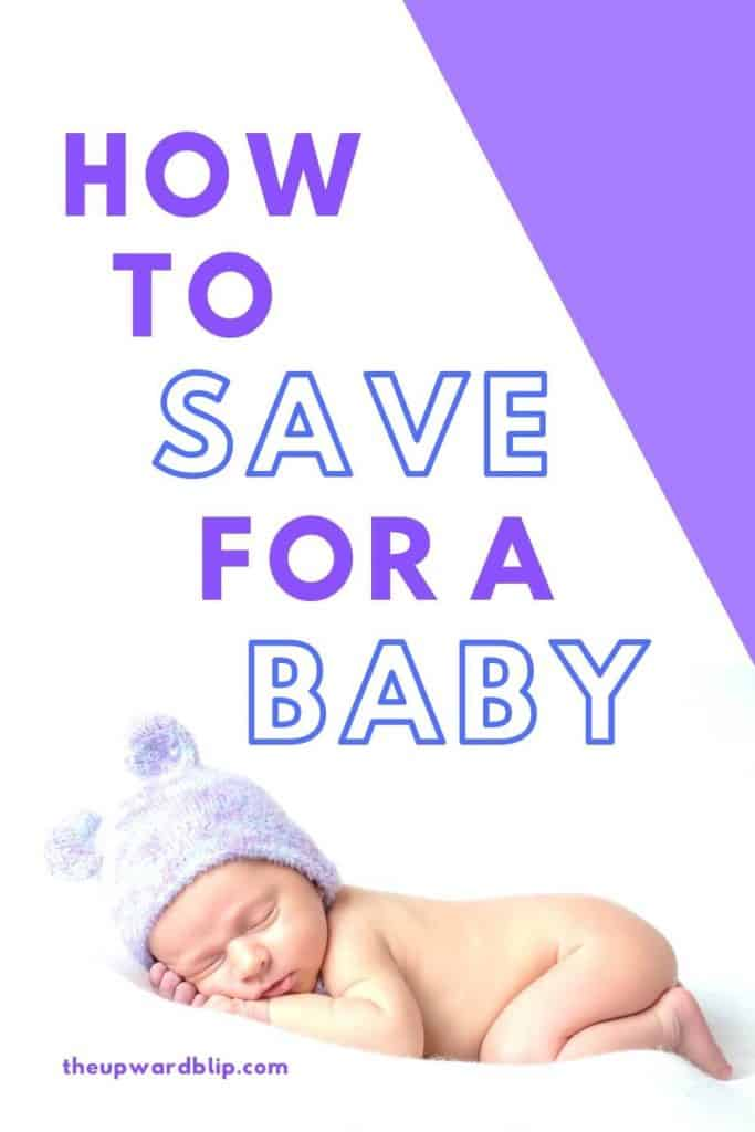 pin image for saving for baby