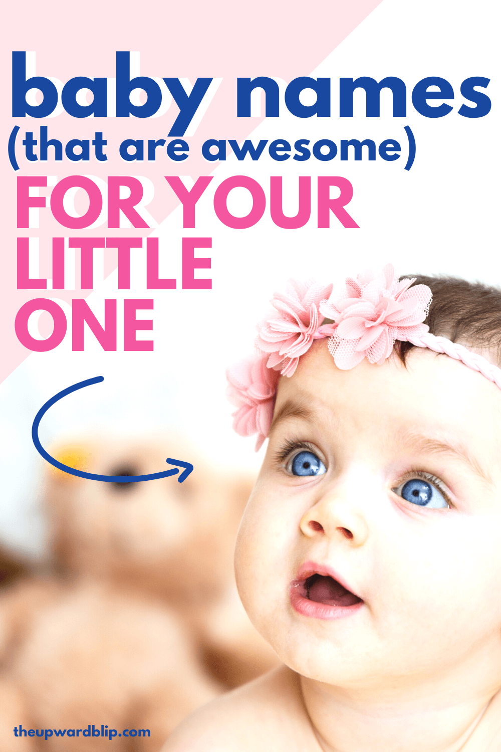 baby names with meanings for Pinterest