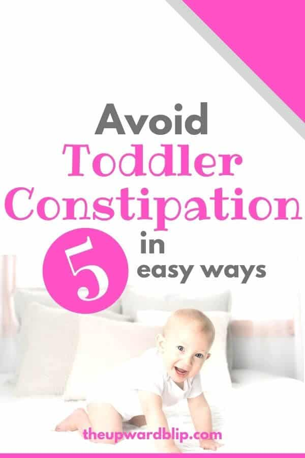pin image for toddler constipation