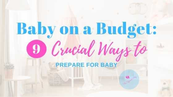 blog banner for baby on a budget article